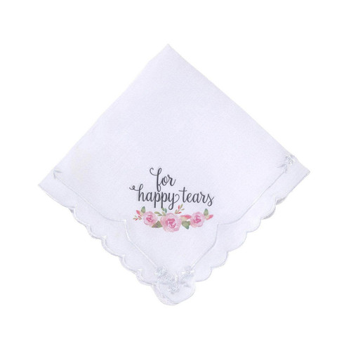 For Happy Tears Hanky Handkerchief Gift