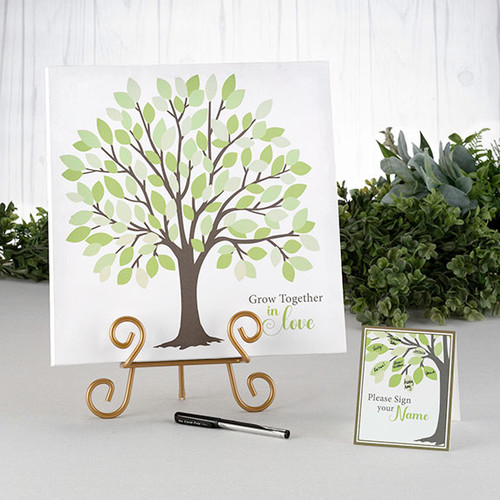 Wedding Signing Tree Canvas Guest Book Alternative