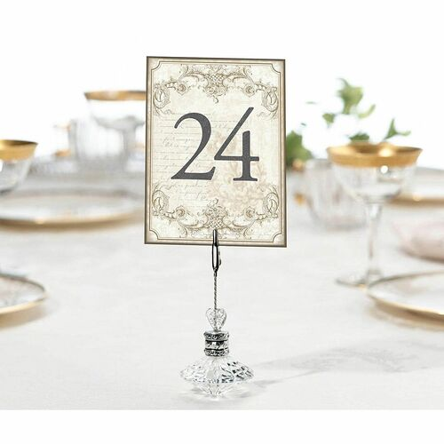 Gold Table Numbers 1 to 24