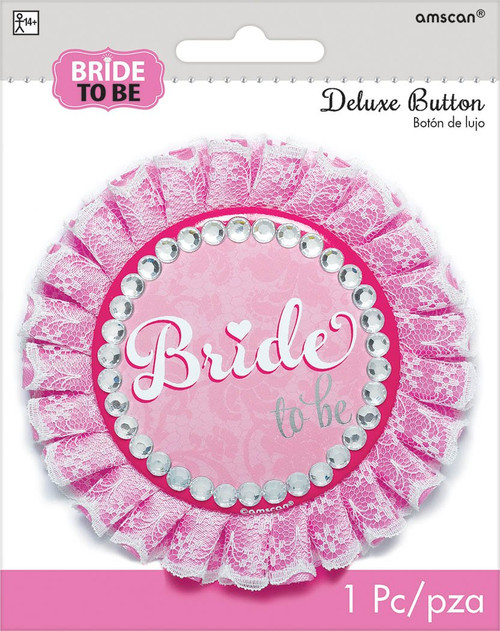 Bride to Be Badge Accessory