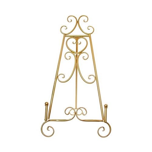 Gold Metal Table Easel Stand