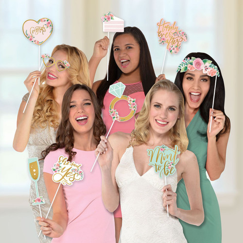 Bridal Shower or Hens Night Photo Booth Props