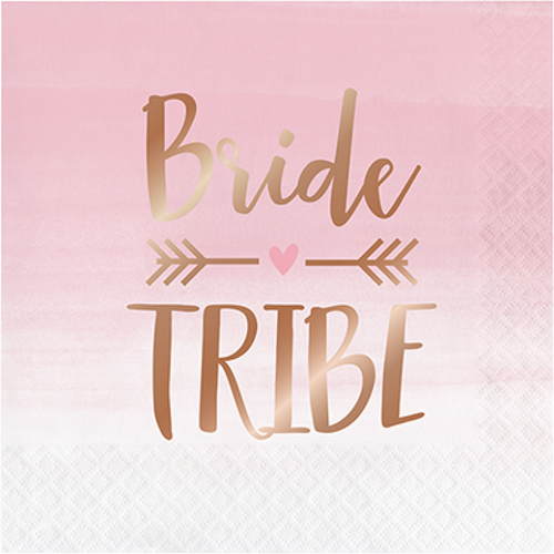 Bride Tribe Hens Night Party Napkins