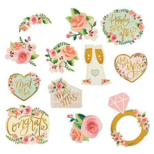 Bridal Shower or Hens Night Cutout Decorations
