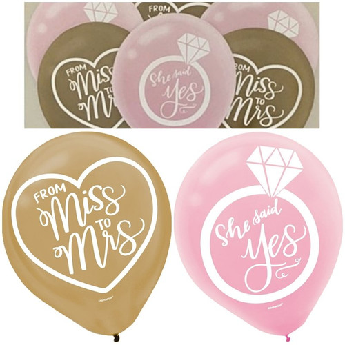Bridal Shower or Hens Night Party Balloons