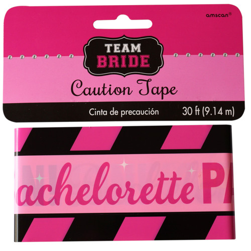 Bachelorette Party Caution Tape Banner Decoration