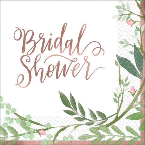 Bridal Shower Beverage Napkins