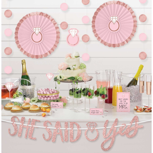 She Said Yes Decorating Kit for Lolly Buffet