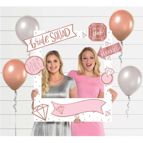 Bridal Shower Photo Booth Frame and Props