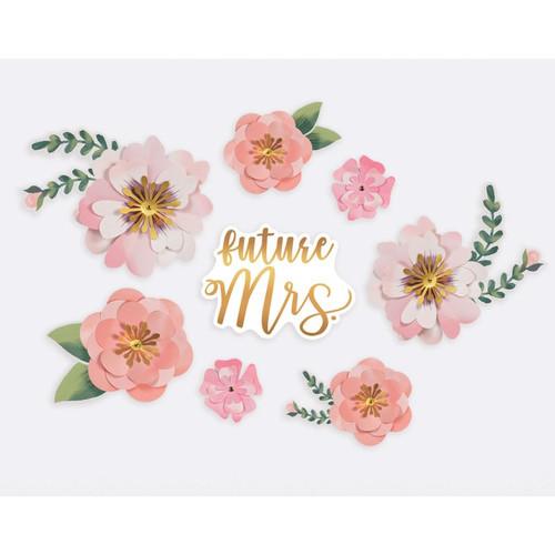 Future Mrs Paper Flower Backdrop Decoration Kit