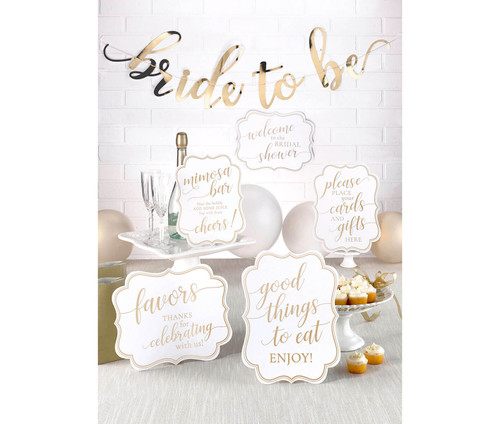 Bridal Shower Signs and Bride To Be Bunting