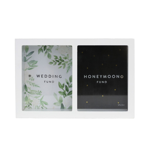 Wedding and Honeymoon Change Savings Money Box