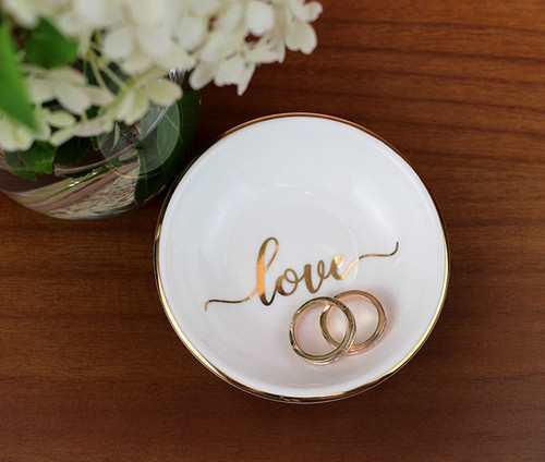 Love Ring Trinket Dish