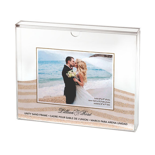 Sand Ceremony Photo Shadow Box Frame