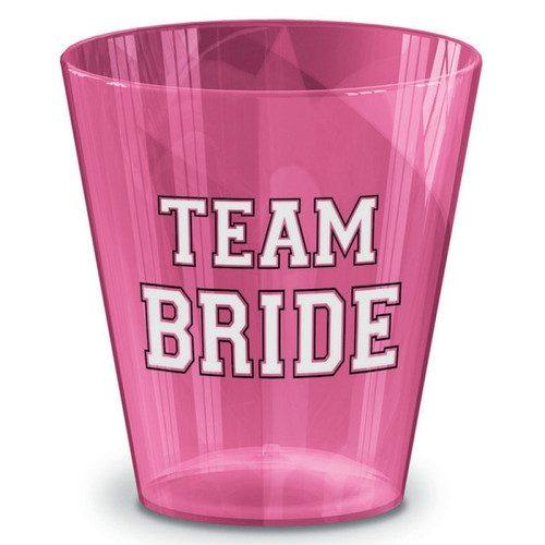 Team Bride Shot Glasses