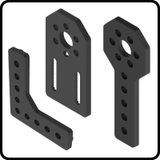 15mm Plastic Brackets