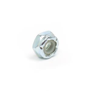 #10-32 Low Profile Nylon Lock Nut - 100 Pack