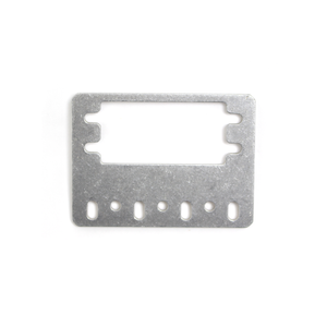 15mm Metal Flat Servo Bracket V2 - 4 Pack