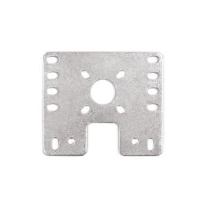 15mm Metal Flat Bare Motor Bracket - 4 Pack