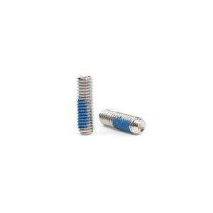 M3 x 10mm Nylon Patch Set Screw - 10 Pack