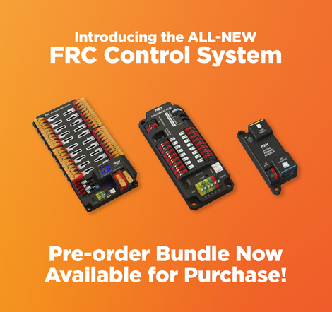 FRC Control System Pre-order Bundle Now Available for Purchase!