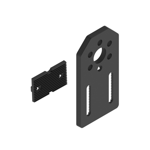 15mm Plastic Indexable Motion Bracket - 4Pack
