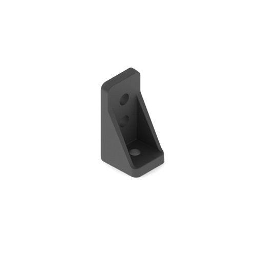 15mm Plastic Lap Corner Bracket - 8Pack