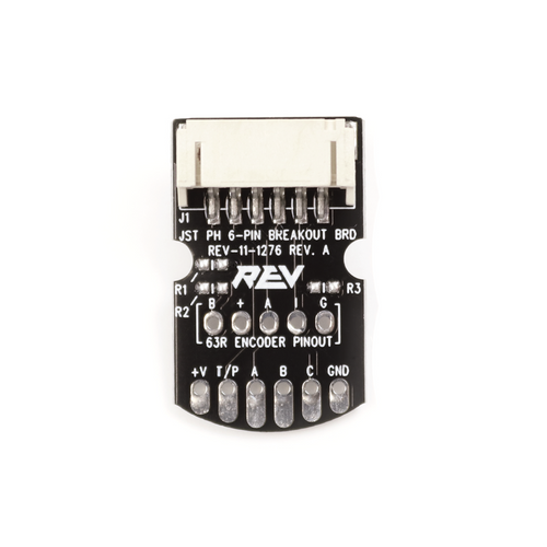 JST PH 6-pin Breakout Board - 4 Pack