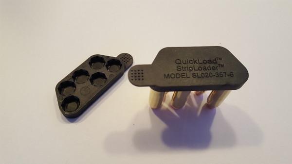 SL020-357-6 (38 cal, 6-shot) QuickLoad(R) StripLoader(TM) Two-Pack