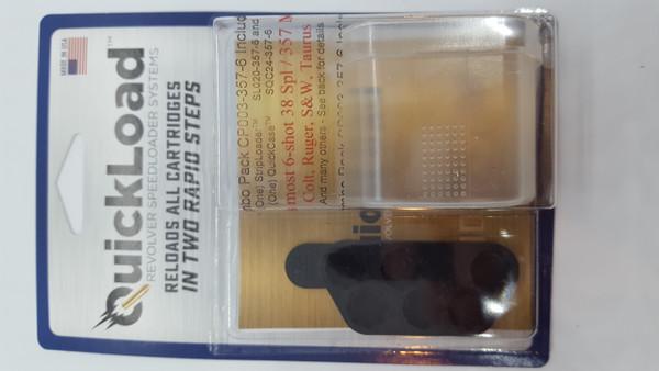 CP003-357-6 (38 cal, 6-shot) QuickLoad(R) StripLoader(TM) Combo Pack w/ SL020-357-6