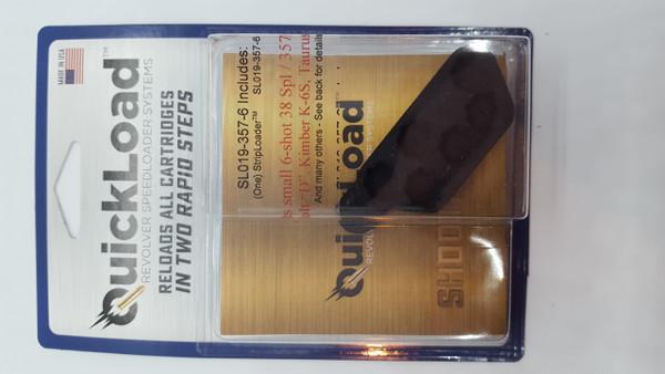 SL019-357-6  (38 cal, 6-shot) QuickLoad(R) StripLoader(TM)