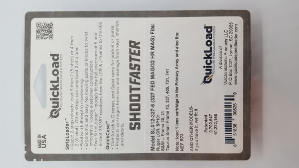 SL012-327-6 (32 cal, 6-shot) QuickLoad(R) StripLoader(TM)