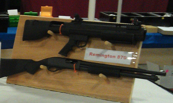 Your gun on bottom converts into Bullpup on top - WITHOUT ANY GUNSMITHING!