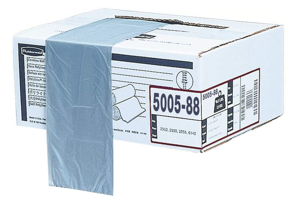 Rubbermaid Polyliner Bags 30 ?, 75.7/121.1 L