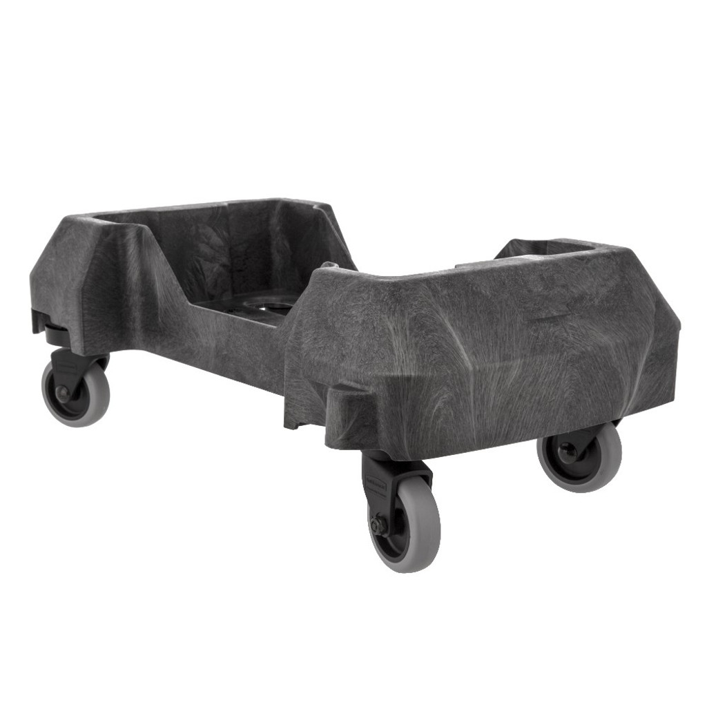 Rubbermaid Slim Jim Resin Trainable Dolly