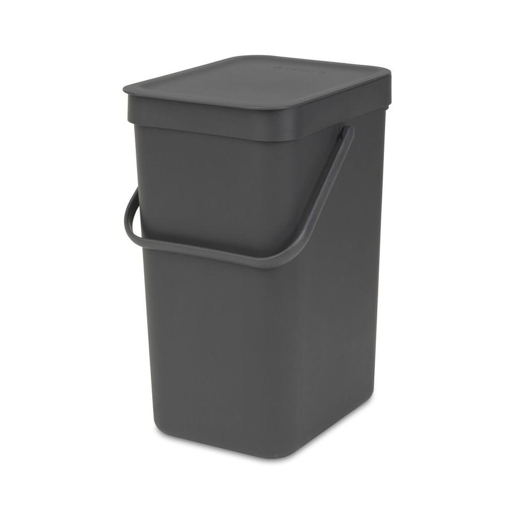 Brabantia Waste Bin 'Sort & Go' 12 litre - Grey