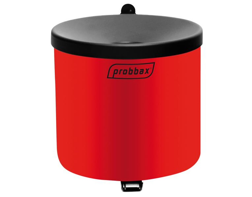 Probbax Wall Mounted Ashtray 1,5L - Red