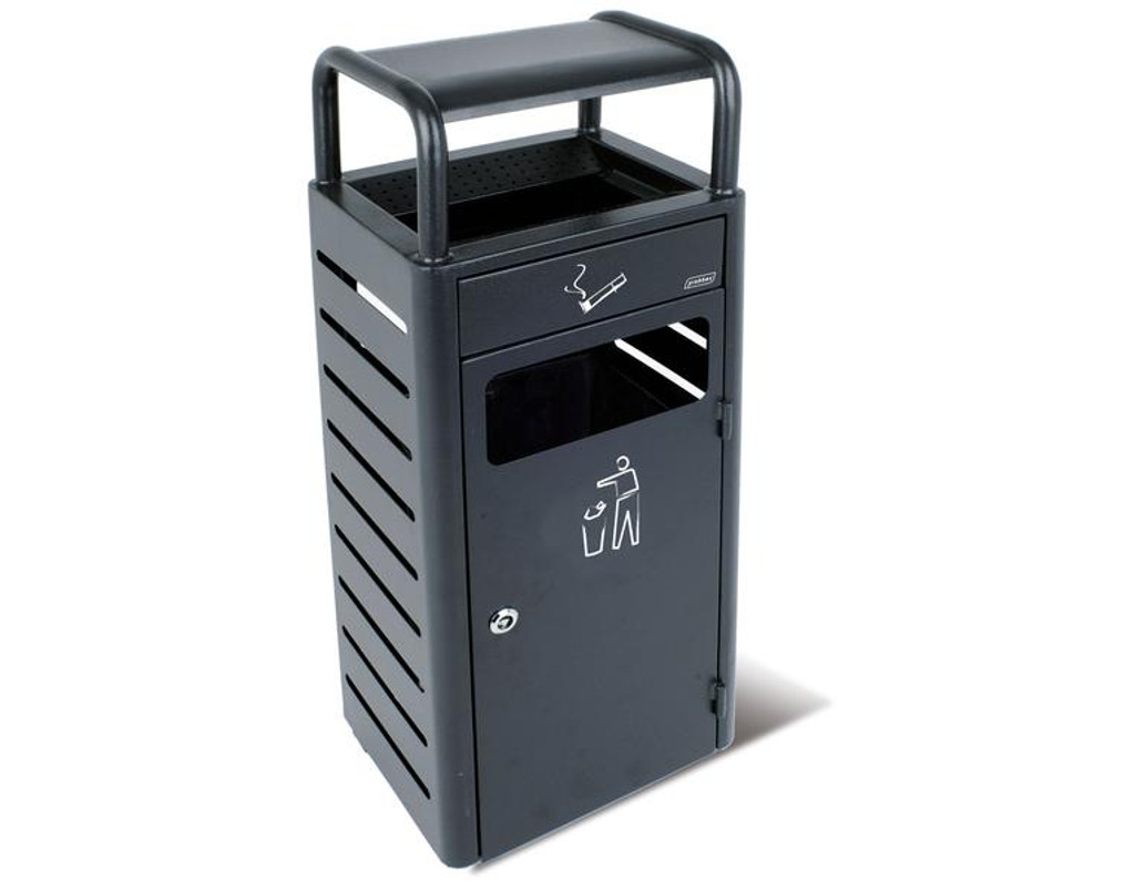 Probbax Stand Alone Ash/Trash Container (With 2,3 + 20L Liners) - Dark Grey