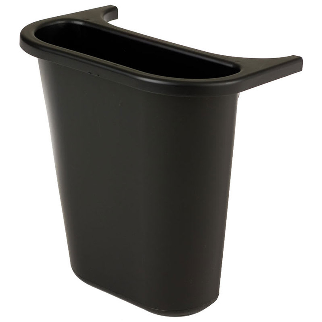 Rubbermaid Saddle Bin - Black