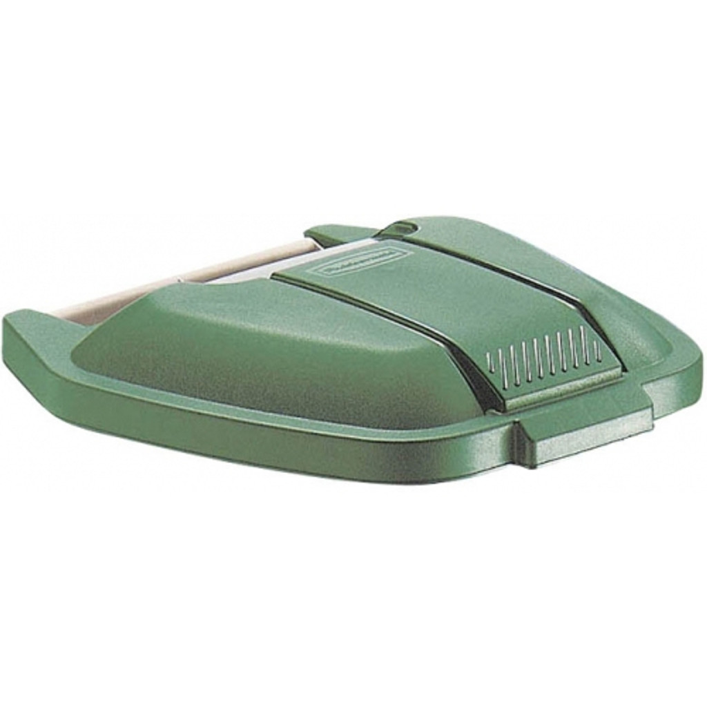 Rubbermaid Mobile Container Lid - Green