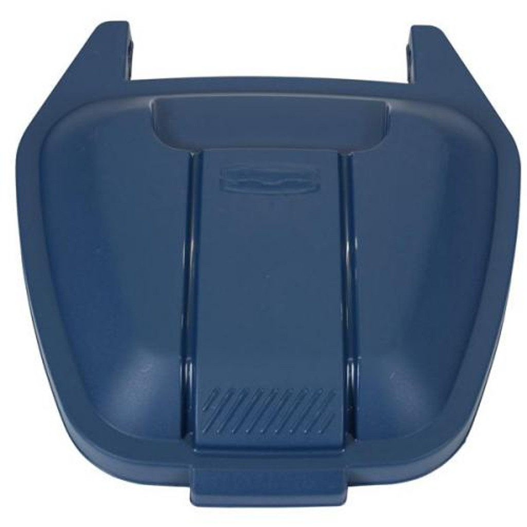 Rubbermaid Mobile Container Lid - Blue