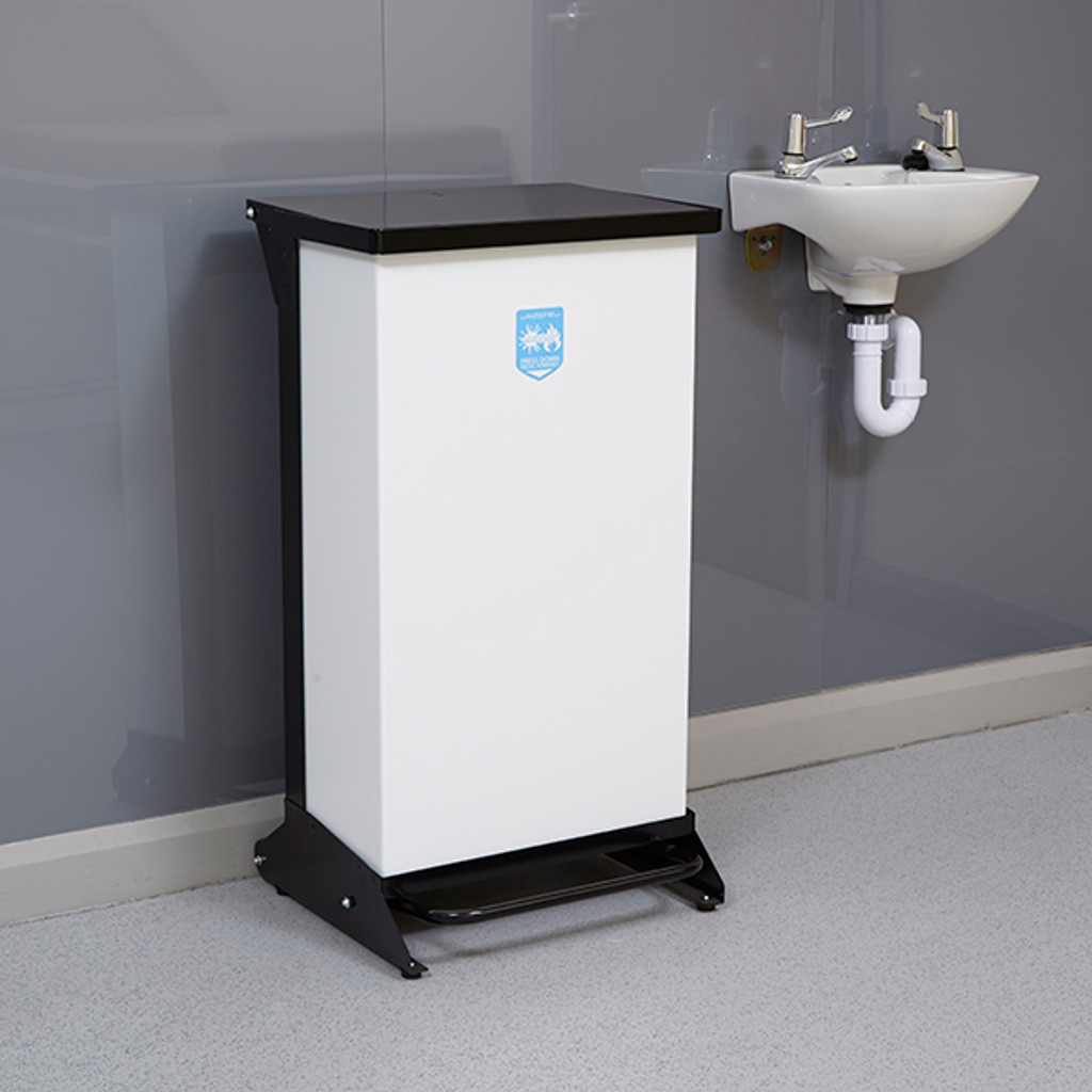 Wybone 80 Litre Metal Pedal Operated Recycling Unit