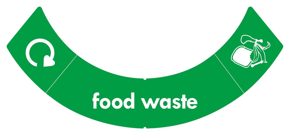 Greenwarehouse uBin Sticker - Food Waste
