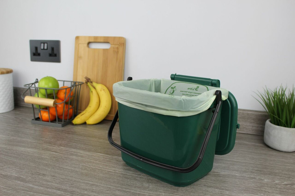 All-Green Caddy Company Compostable Kitchen Caddy Bags - 5 Ltr