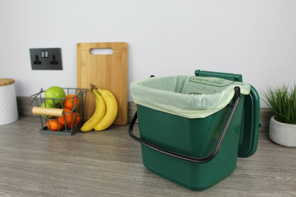 All-Green Caddy Company Compostable Kitchen Caddy Bags - 7 Ltr