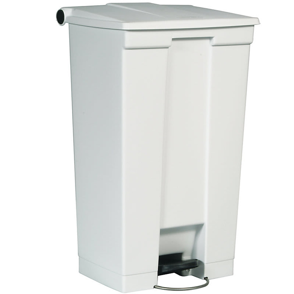 Rubbermaid Step-On Can Mobile 23G/87L Wht