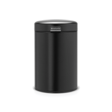 Brabantia Wall Mounted Bin newIcon 3 litre Plastic Bucket - Matt Black