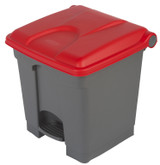 Probbax Step-On Container 30L - Red - Ral 3020