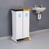 Wybone 80 Litre Duo Clinical Waste Bin