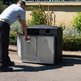 Wybone Nr/2R Double Never Rust Recycle Bin Smooth